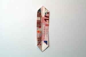 Geldblume falten Anleitung Schritt 5