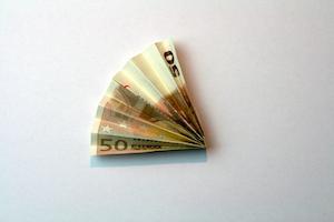 Anleitung Geldfächer Schritt 4